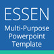 ESSEN Multi-Purpose Powerpoint Template - GraphicRiver Item for Sale