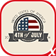 American/4th of July Badges Pack - GraphicRiver Item for Sale