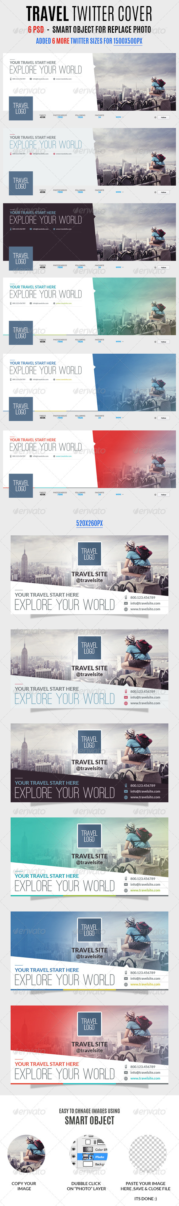 Travel Twitter Covers - Twitter Social Media