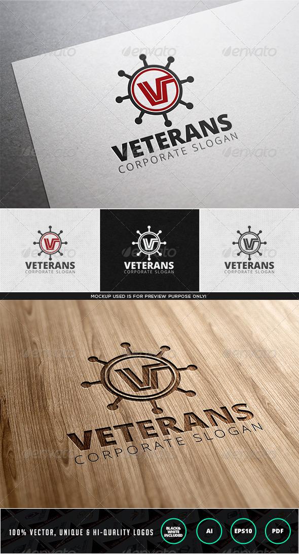 Veterans Logo Template - Letters Logo Templates