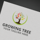 Growing Tree Logo - GraphicRiver Item for Sale