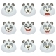 Emotions Panda Set - GraphicRiver Item for Sale