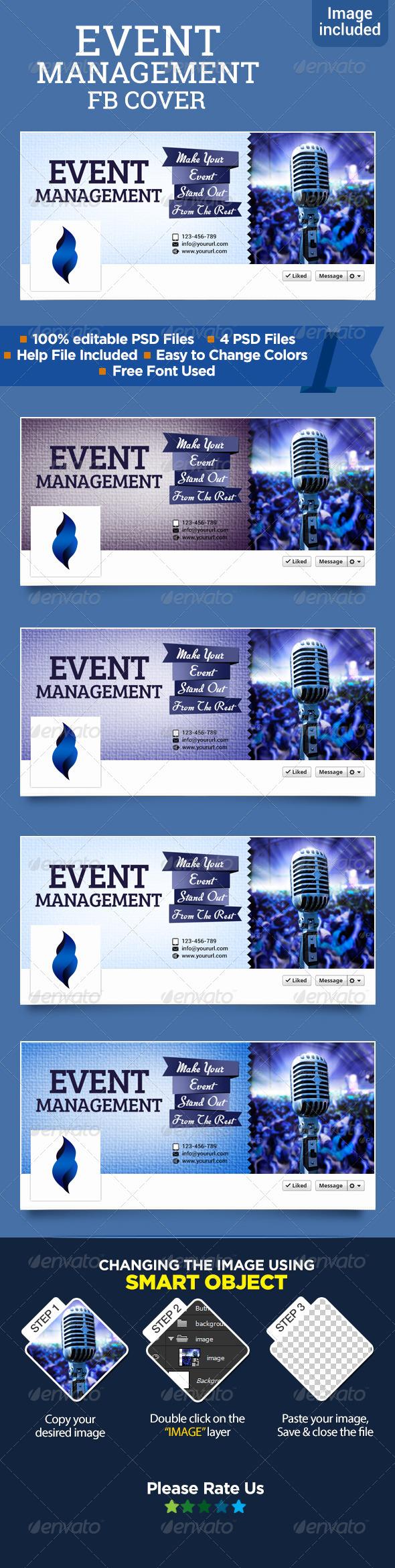 Event Management Facebook Cover - Facebook Timeline Covers Social Media