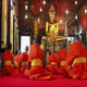 Buddhist Monks Pray In Temple 3 - VideoHive Item for Sale