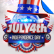 July 4th Independence Day Flyer Template