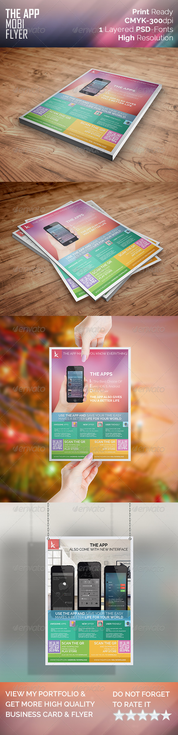 The Mobi App Flyer - Corporate Flyers