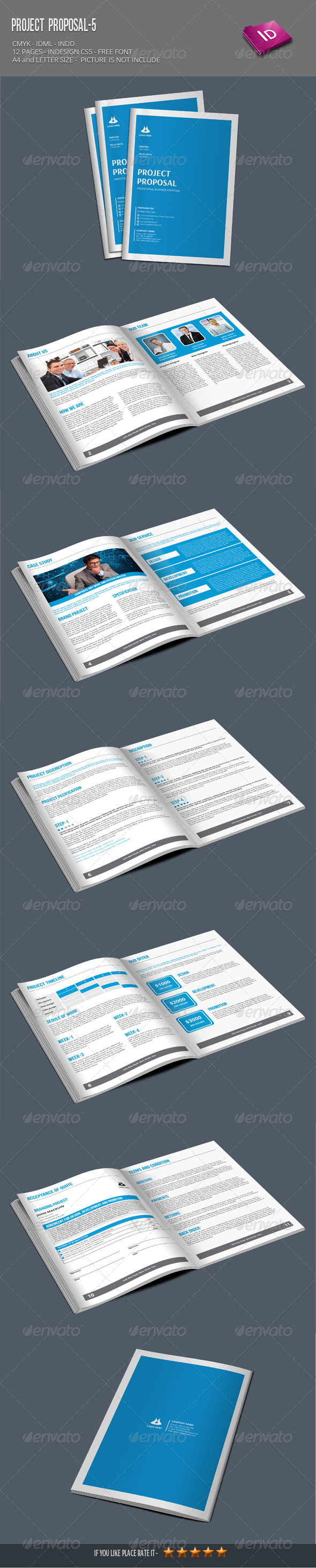 Project Proposal-5 - Proposals & Invoices Stationery