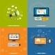 Social Media, Web Design, Seo and Pay Per Click - GraphicRiver Item for Sale