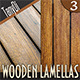 Wooden Lamellas Backgrounds - GraphicRiver Item for Sale