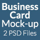 Business Card Mock-Up SS-6 - GraphicRiver Item for Sale