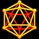Icosahedron 3D Shape - GraphicRiver Item for Sale