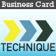 Technique Business Card - GraphicRiver Item for Sale