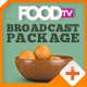 Food TV Broadcast Package - VideoHive Item for Sale