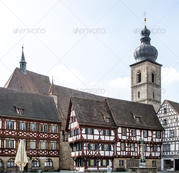 Historic Forchheim - Stock Photo - Images
