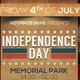 4th of July/Independence Day Flyer - GraphicRiver Item for Sale