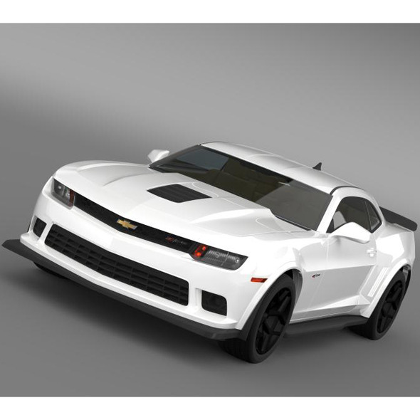 Chevrolet Camaro Z28 2014 - 3DOcean Item for Sale