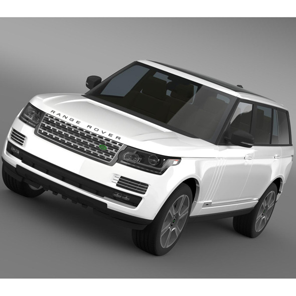 Range Rover Hybrid LWB L405 - 3DOcean Item for Sale