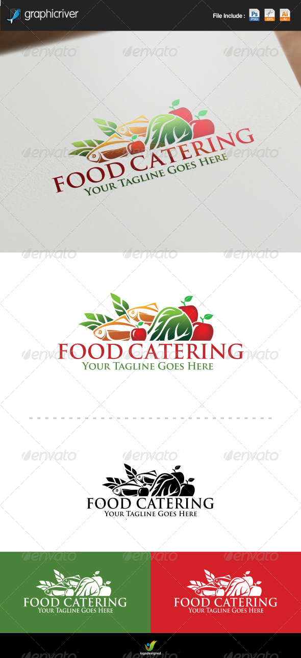 Food Catering Logo