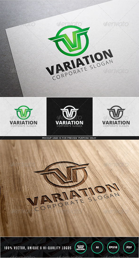 Variation Logo Template - Letters Logo Templates