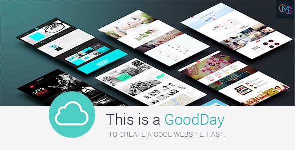 GoodDay – Multi-Purpose Responsive WordPress Theme