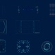 10 Footage Hud UI Elements/ Circles/ Text Placeholder - VideoHive Item for Sale