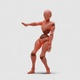 Bot Woman with Dancing Hiphop 01 - VideoHive Item for Sale