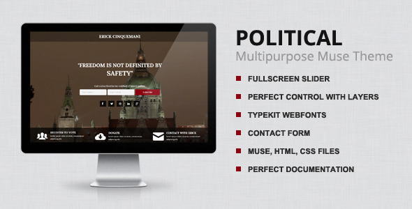 Political – Muse Template