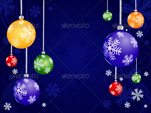 Abstract Christmas Background - Backgrounds Decorative