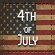 Happy Fourth of July Gift voucher - GraphicRiver Item for Sale