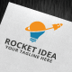 Rocket Idea Logo Template - GraphicRiver Item for Sale