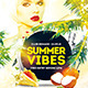 Summer Vibes Flyer Template PSD - GraphicRiver Item for Sale