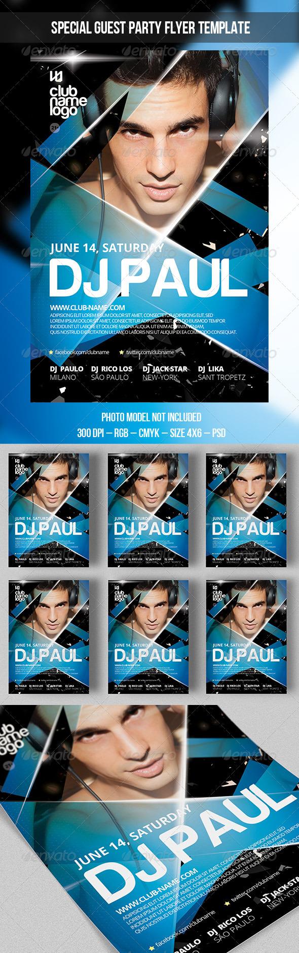DJ Party - Print Templates