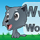 Cartoon Wolf - GraphicRiver Item for Sale