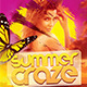 Summer Craze Flyer Template PSD - GraphicRiver Item for Sale