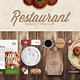 Restaurant / Food Identity Mock-up - GraphicRiver Item for Sale
