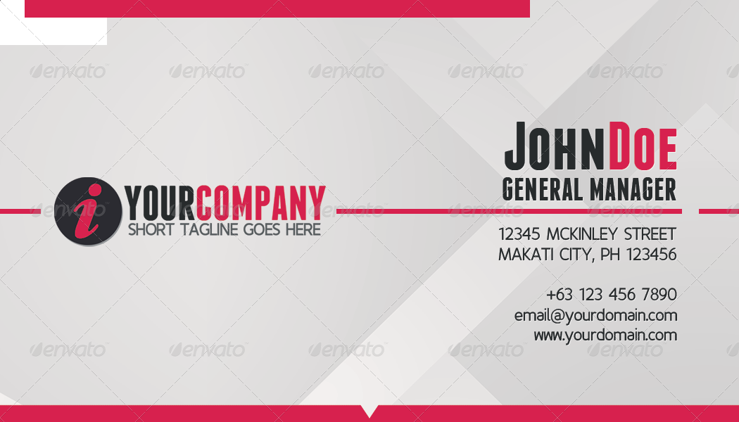 Simple Professional Business Card by jRyanDesign | GraphicRiver