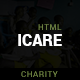 ICARE - Nonprofit, Fundraising HTML Template - ThemeForest Item for Sale