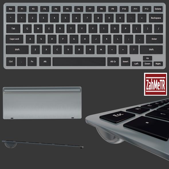 Mini Keyboard (Key Text Change Option) - 3DOcean Item for Sale