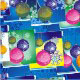 Christmas Balls On Abstract Background. - GraphicRiver Item for Sale