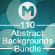 110 Abstract Backgrounds Bundle - GraphicRiver Item for Sale