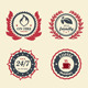 Achievement Badges - GraphicRiver Item for Sale