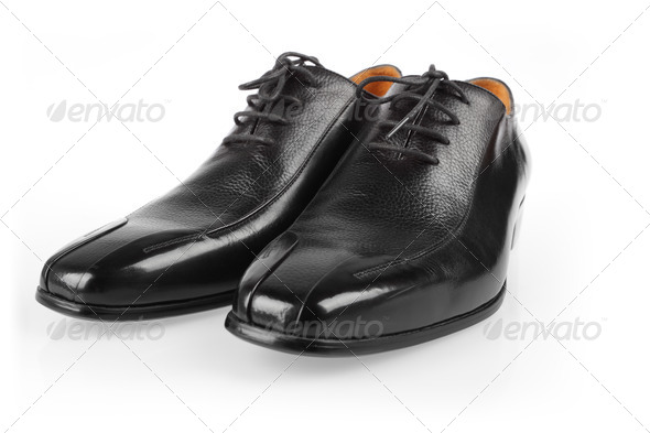 male shoes in fashion concept - Stock Photo - Images
