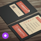 Minimal Business Card 032 - GraphicRiver Item for Sale