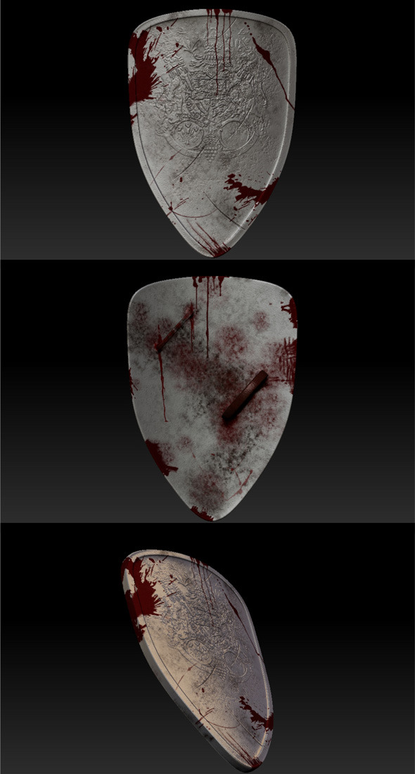 Metal Shield - 3DOcean Item for Sale