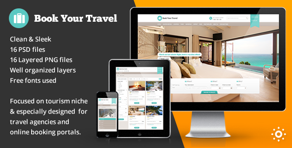 Book Your Travel – Online Booking Template