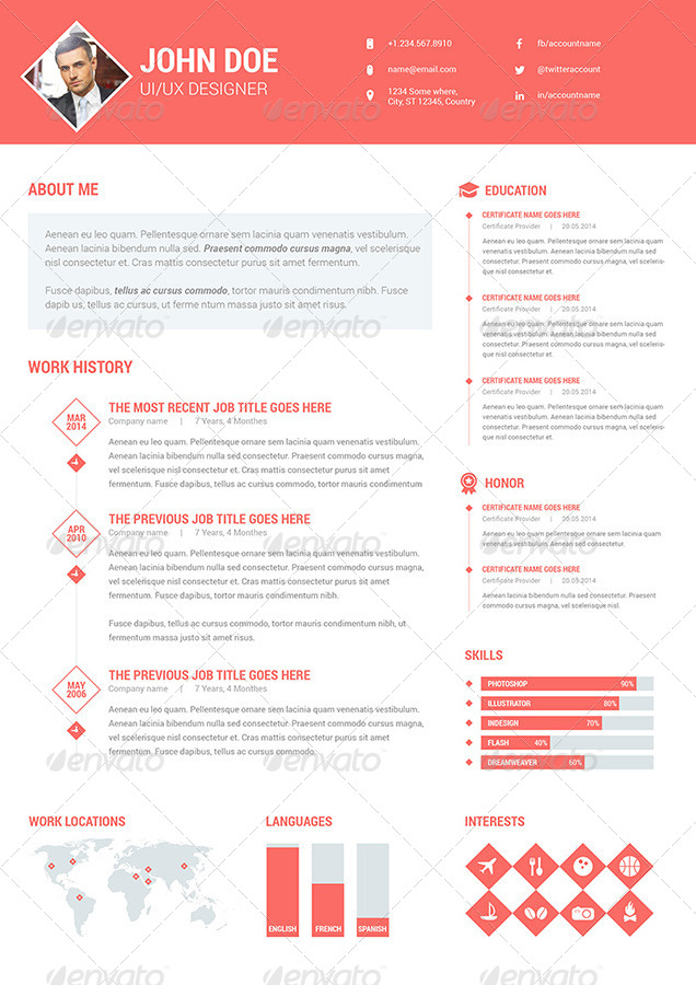 diamond resume  cv