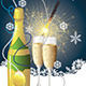 Champagne and Sparkler   - GraphicRiver Item for Sale