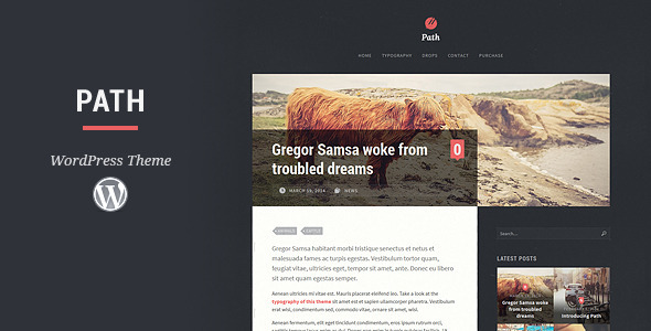 Path WordPress Theme