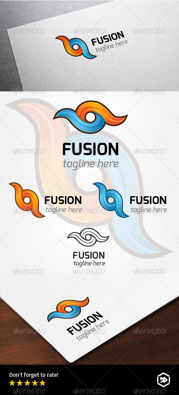 Infinity Fusion Evolution - Abstract Logo Templates