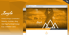 01 junghe onepage portfolio theme screen.  thumbnail